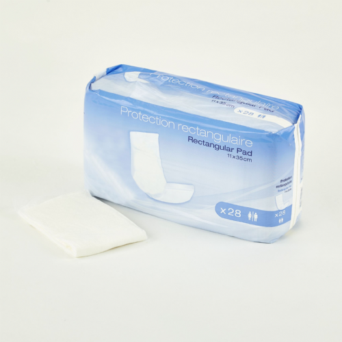 AMD Insert Pad Non-waterproof 11x35 - Incontinence Pads Pack of 28